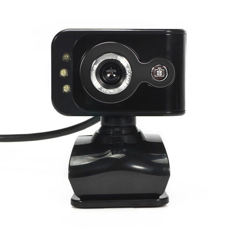 360 grad 20mp 3 led hd kamera usb 2.0 stück webcam kamera w Mikrofon mikrofon Nachtsicht für Computer PC Laptop MSN