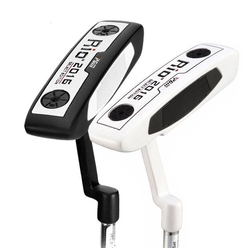 Véritable PGM unisexe Golf pilote Club Putter hommes et femmes main droite acier blanc noir Club Putter 35 ''/34'' Standard en alliage de Zinc