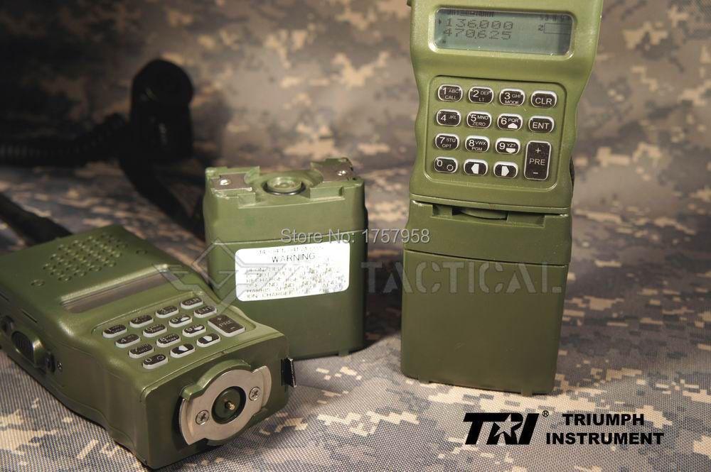 TRI AN/PRC-152 (UV) 6-PINS Inter/Intra MBITR Radio Devgru PRC 152 Tactical Wireless Walkie ( IPX-7 )