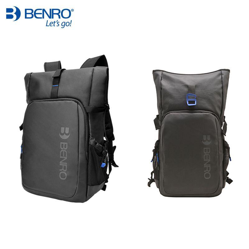 Benro INCOGNITO B100 B200 Camera Backpack DSLR Camera Bag Waterproof Soft Shoulders Bag For Canon/Nikon Camera