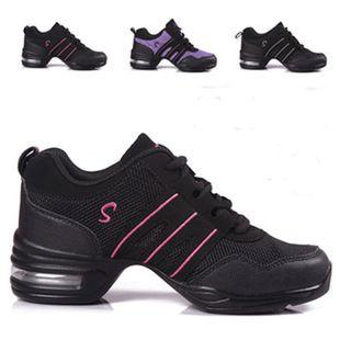 New Modern Dance Shoes Women Sports Feature Dance Sneakers Jazz Hip Hop Shoes Woman Dancing Shoe