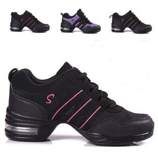 New Modern Dance Shoes Women Sports Feature Dance Sneakers Jazz Hip Hop Shoes Woman Dancing Shoe