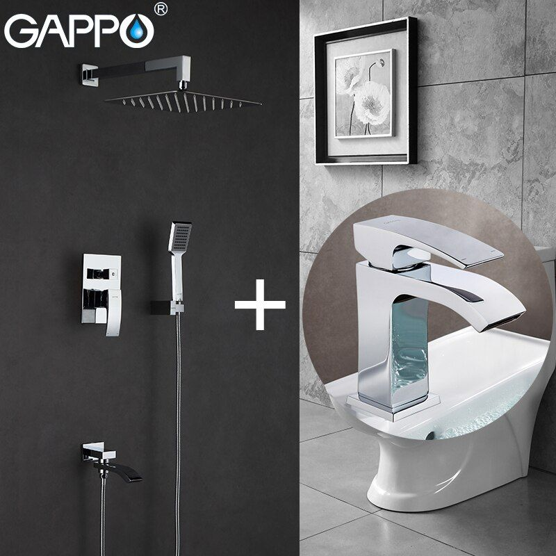 GAPPO Bathtub Faucets bath tub mixer bathtub tap basin faucet water sink faucet basin mixer taps baignoire