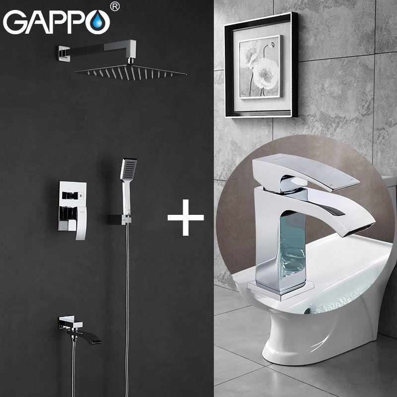 GAPPO Bathtub Faucets bath tub mixer bathtub tap basin faucet water sink faucet basin mixer taps baignoire
