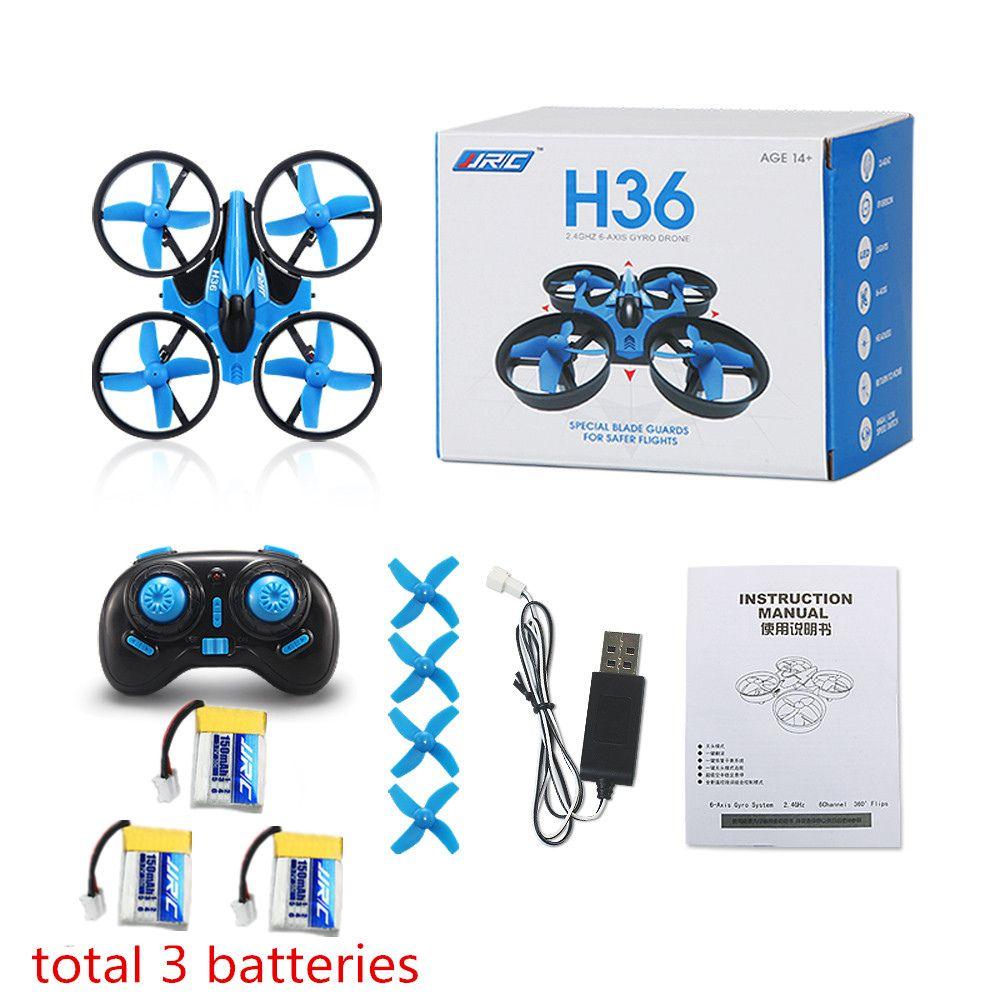 Jjrc h36 mini drone rc drone quadricoptères sans tête mode un retour key rc hélicoptère vs jjrc h8 mini h20 dron meilleur toys pour les enfants