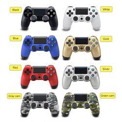 Sans fil Bluetooth Contrôleur de Jeu pour Sony PS4 PlayStation 4 Controller pour Contrôleur Double Choc Vibration Joystick Gamepad pour PS4