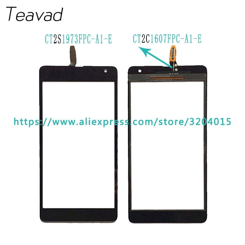High Quality For Nokia Microsoft Lumia 535 N535 CT2S1973 CT2C1607 2S or 2C Touch Screen Digitizer Sensor Outer Glass Lens Panel