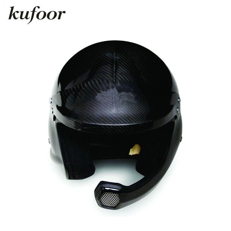 Снелл sah2010 Омологация глянцевый черный углеродного Волокно гоночный автомобиль шлем/Гонки на мотоциклах шлем