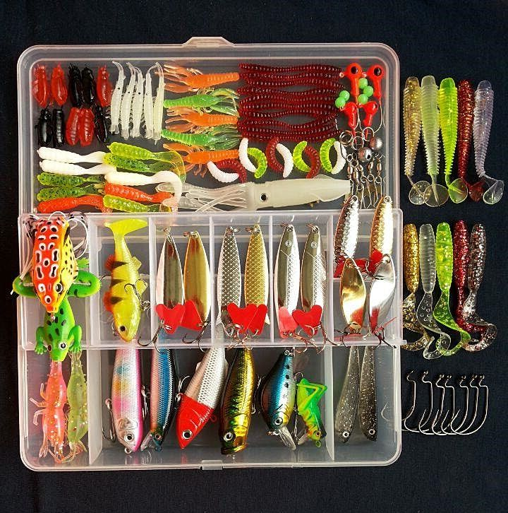 2017 Hot! Suits Hard Metal Lure Soft Bait Spinner/Minnow/Popper/Wobbler/VIB Sequins Artificial Baits Fishing Tackle Fishing lure