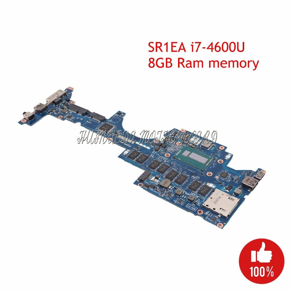 FRU 04X6417 Mainboard For Lenovo Thinkpad Yoga S1 Laptop motherboard ZIPS1 LA-A341P SR1EA I7-4600U 8GB Ram Memory works