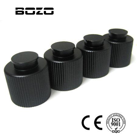 Пейнтбол Аксессуары гПа/co2 бак Клапан черный alumium Нитки протектор (4 шт.) маркер Пейнтбольный маркер части