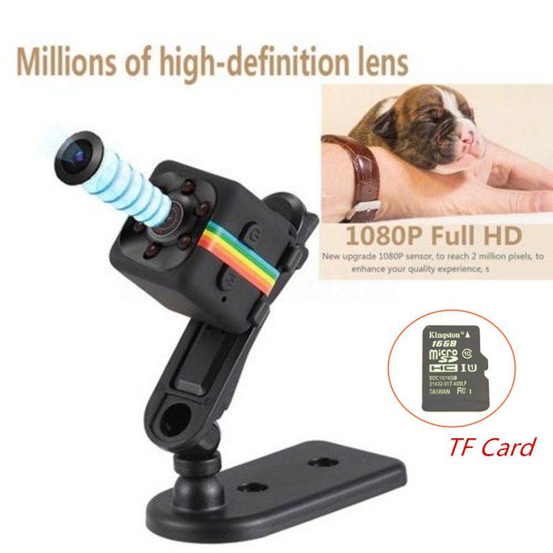 SQ11 Sport DV Micro Min Caméra HD 1080 P Mini Caméscope CMOS nuit Vision DVR Mouvement Voix Enregistreur Vidéo Mini Cpy Cam Caméra