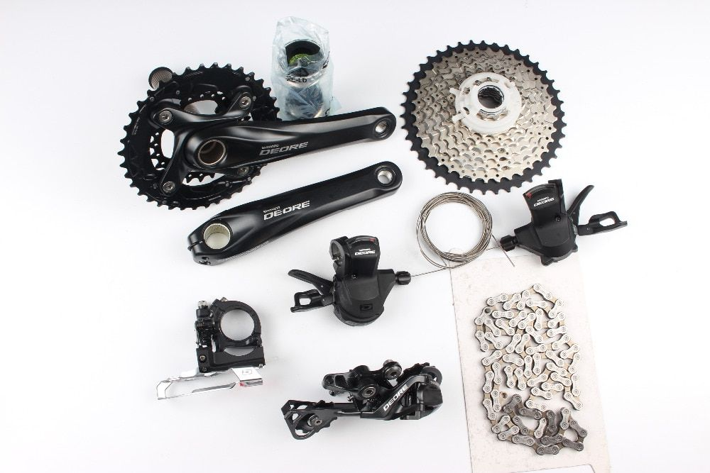 Shimano Deore M610 M615 2x10 speed 170mm 38-24T MTB Groupset Group Set Kit 20s speeds bike bicycle parts bicicleta