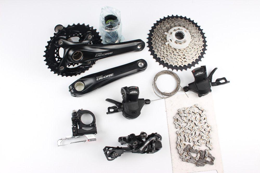 Shimano Deore M610 M615 2x10 speed 170mm 38-24T MTB Groupset Group Set Kit 20s speeds bike bicycle parts bicicleta