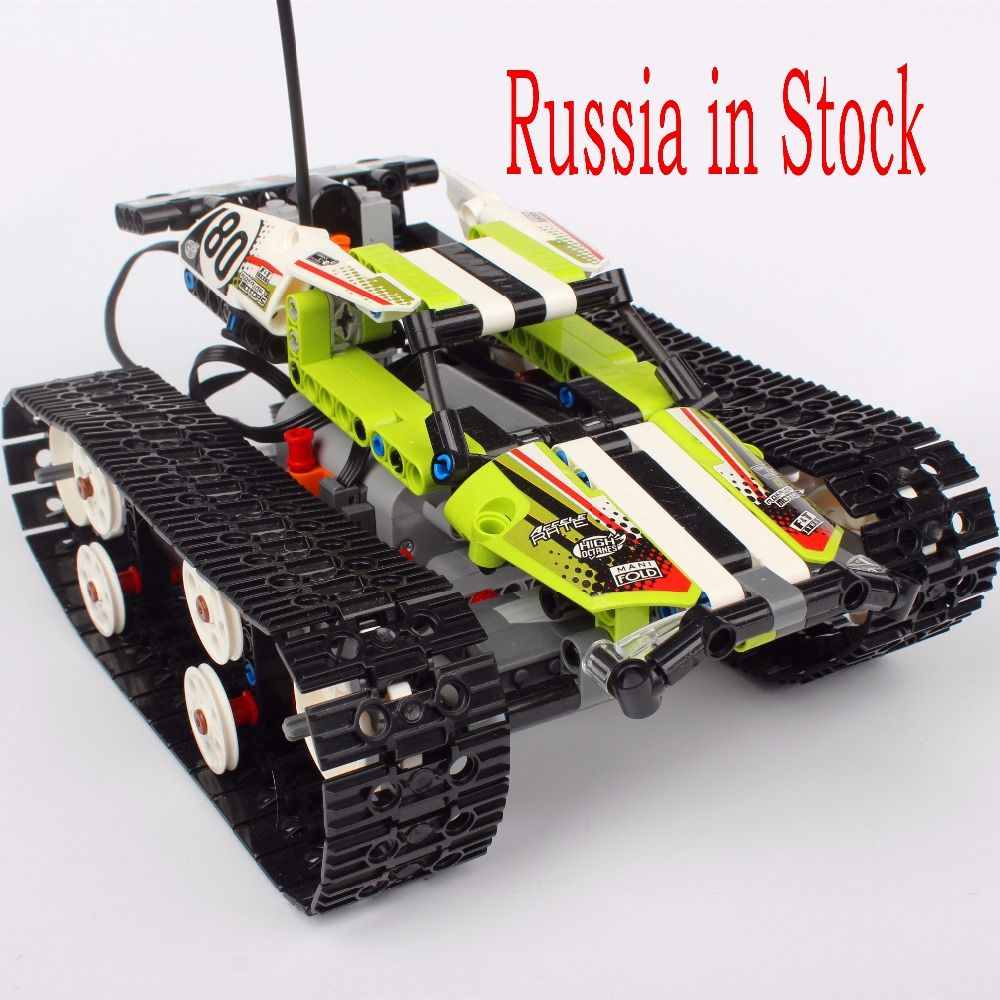 Russia In Stock Remote Control RC Tracked Racer Building Block Bricks Toys Compatible with Legoings Technic 42065