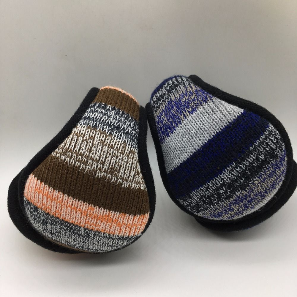 Warm Winter Knitting Earmuffs Fashionable Men and Women General Folding Earmuffs