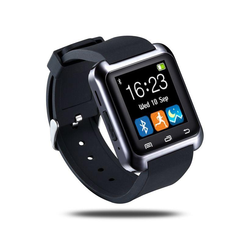 Montre intelligente Bluetooth U8 Smartwatch U80 pour iPhone 6/5 S Samsung S6/Note 4 HTC Android téléphone Smartphones Android Wear