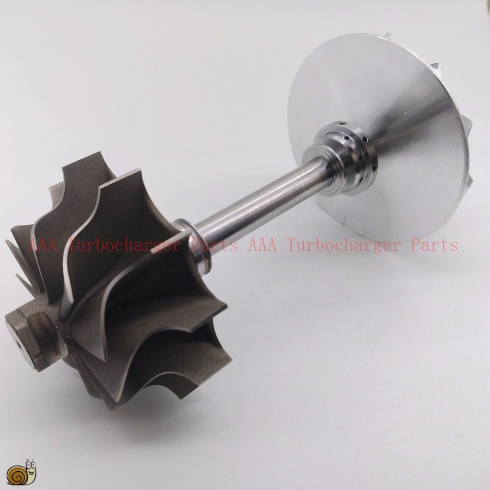 TB34 Turbo parts turbine wheel 49.2x64.8mm,11 blades,compressor wheel 47.2x75mm,6/6,supplier AAA Turbocharger Parts