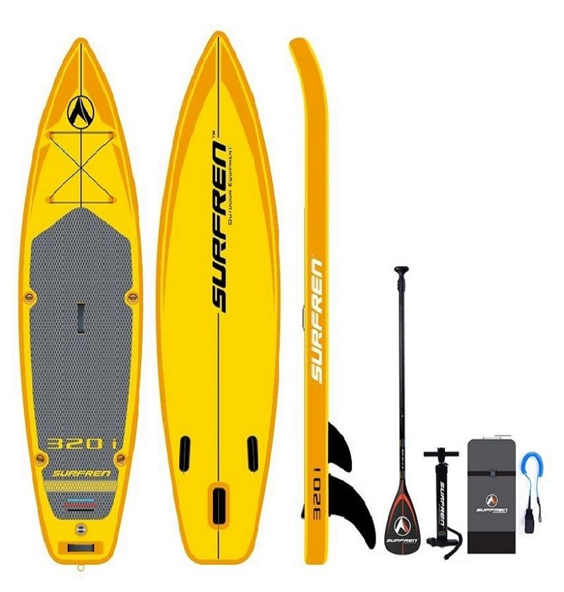Aufblasbare Surf Stand Up paddle Sup board iSUP Surfen Paddleboard SURFREN Alle Round320i wakeboard kayakboat size320 * 81*15cm