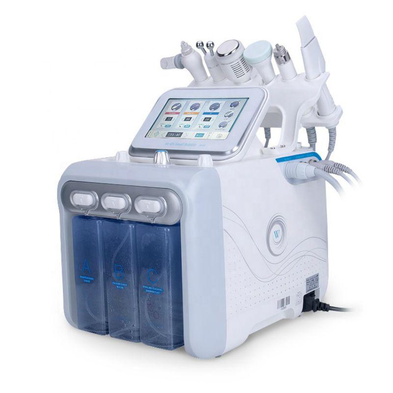 6 in 1 Neue technologie H2O2 wasser sauerstoff jet peel hydra schönheit
