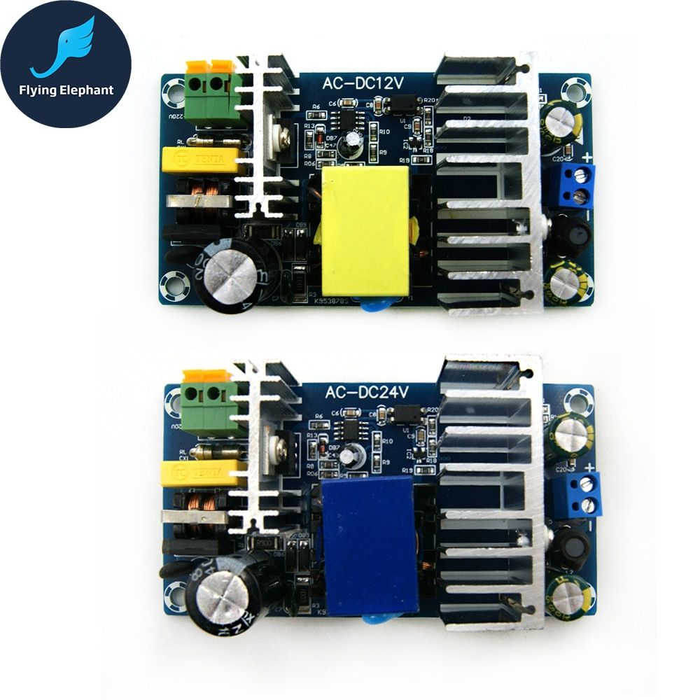 AC85-265V À DC24V DC12V Switching Power Supply Board AC-DC Puissance Module 24 v 4-6A 6-8A 100 w
