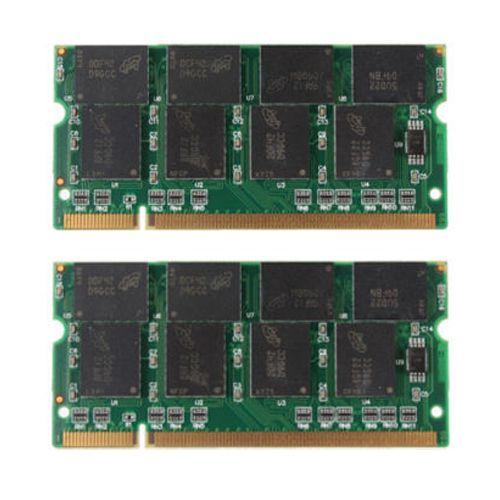 YOC-2GB 2X1 GB PC2700 DDR-333 Nicht ECC 200-poligen CL2.5 Laptop (SODIMM) Speicher (RAM) neue