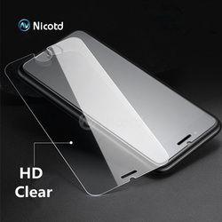 En Verre trempé pour iPhone 6 6 S Protecteur D'écran pour iPhone 7 Plus Verre Film pour iPhone 8 plus X SE 5 5S Protection Robuste 4 4S