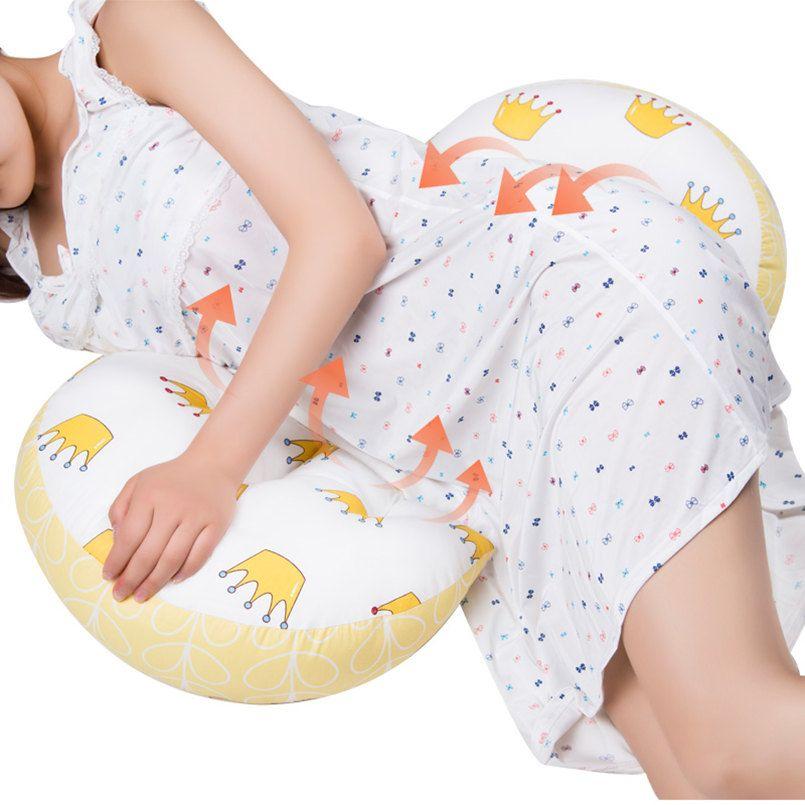 Multi-fonction femmes enceintes oreiller U Type soutien du ventre côté dormeurs oreiller grossesse oreiller protéger taille sommeil oreiller