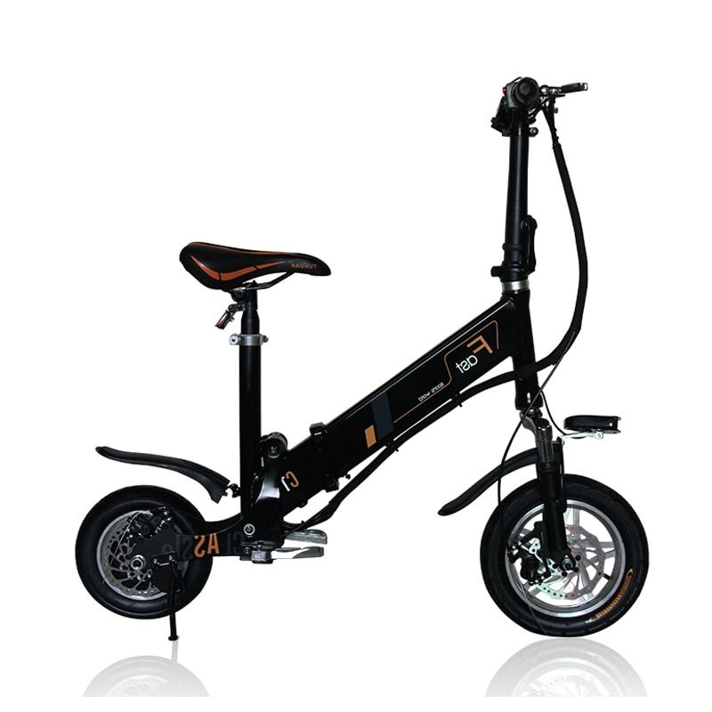 Folding electric bicycle 12inch folding bike instead of walking electric bike Light mini bicycle intelligent electric bicycle