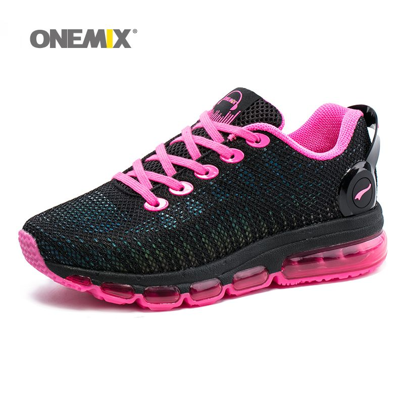 New Onemix air women running shoes sneakers lightweight colorful reflective mesh vamp for outdoor sports jogging walking shoes