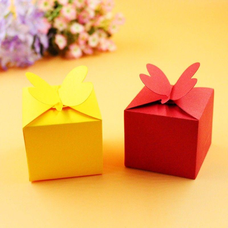 Ylcd126 caja de regalo de la mariposa metal Recortes de papel scrapbooking stencils DIY tarjetas decoración Relieves de papel carpeta die cuts plantilla