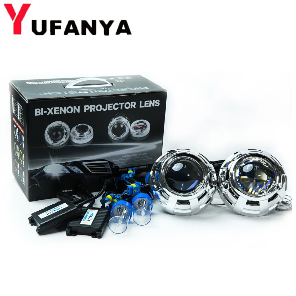 3 inch H4Q5 car styling bi xenon Projector Lens with xenon kit for d2h xenon bulb hid retrofit free shipping