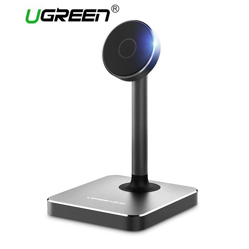 Ugreen Magnetic Desk Stand for iPhone <font><b>Samsung</b></font> Universal Mobile Phone Holder Stand 360 Rotation Magnet Tablet Stand Mount Holder