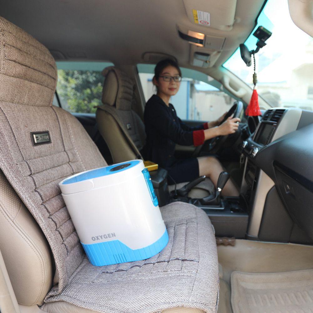 COXTOD Hause und reise Mini tragbare sauerstoffkonzentrator mit akku und auto-ladegerät