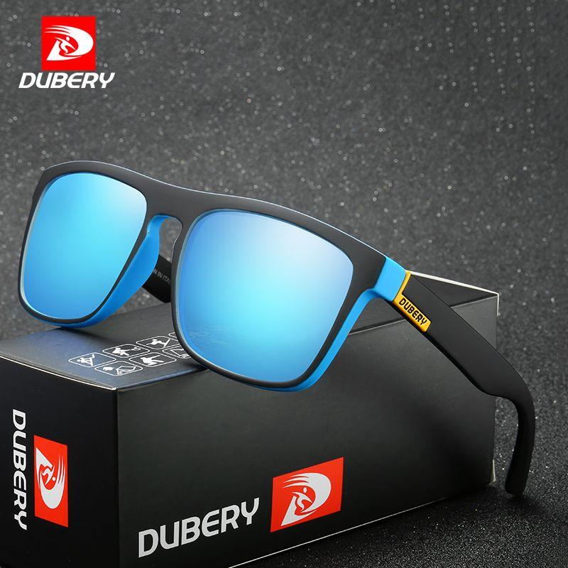 DUBERY Aviation Voiture Shades Mâle de lunettes de Soleil Polarisées Hommes Lunettes de Soleil Pour Hommes Rétro Pas Cher 2017 Marque De Luxe Designer Oculos