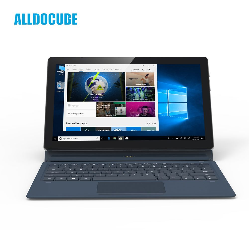 ALLDOCUBE KNote5 11,6 zoll FHD 1920*1080 IPS windows10 Intel Gemini See N4100 Quad Core Tablet PC 4 gb RAM 128 gb ROM Dual WiFi