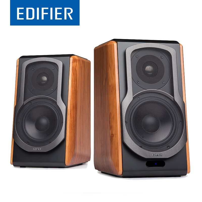 EDIFIER S1000DB Hi-Fi Wireless Bluetooth Speaker Bookshelf With aptX For Home Theatre Speakers Support Remote <font><b>control</b></font>