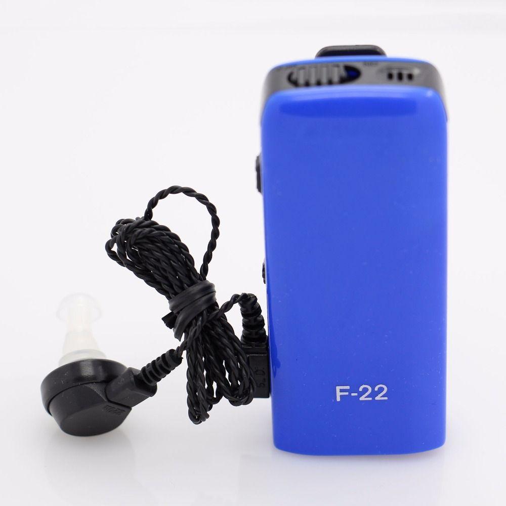 Meilleure aide auditive AXON F-22 amplificateur sonore personnel oreille prothèses auditives soins de l'oreille produits de santé prothèses auditives réglables sourdes