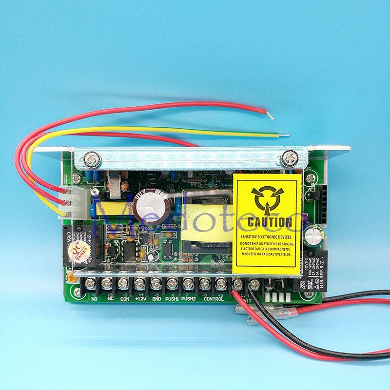 DC12V 5A Nueva Puerta sistema de Control de Acceso Interruptor de fuente de Alimentación AC110 ~ 260 V fuente de Alimentación de Control de Acceso con la espalda función de batería de reserva