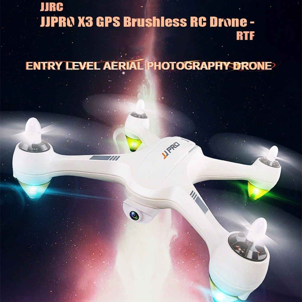 JJRC JJPRO X3 HAX GPS Brushless RC Drone WIFI FPV With HD 1080P Detachable Camera Positioning RC Quadcopter RTF Xmas Gift 2018