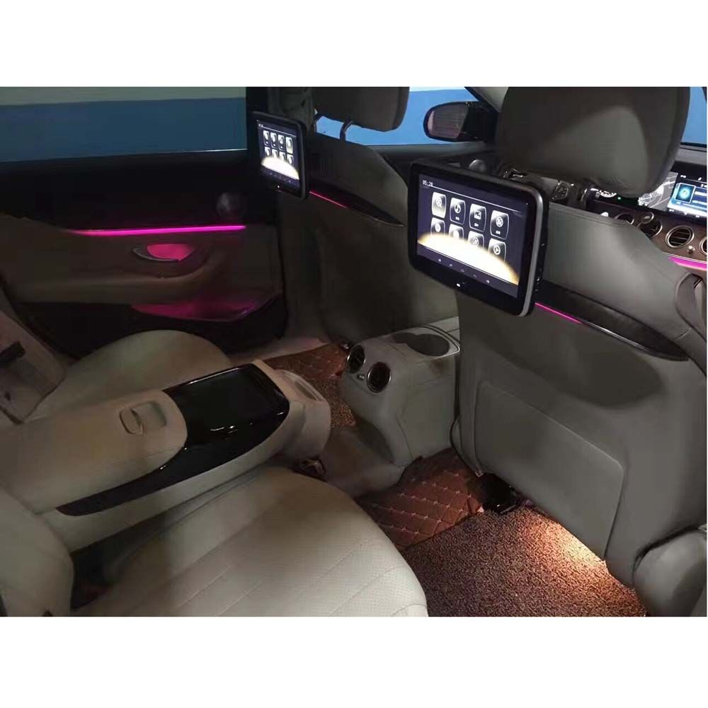 Installation 3 Seconds Android 10.6 Inch Car Monitor Head Rest Screen Specially For Mercedes E C Class Auto Pillow Monitor DVD