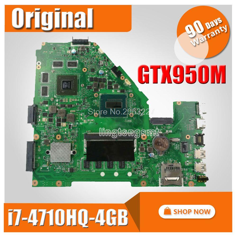 X550JX i7 cpu GTX950M Für ASUS X550JK X550JD ZX50J X550J A550J FX50J X550JX FX50J X550JF Laptop motherboard mainboard