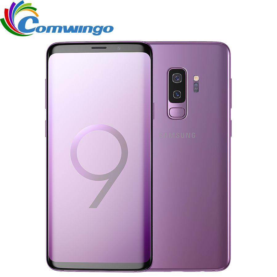 Original Samsung Galaxy S9 Plus 6 gb RAM 64 gb/128 gb ROM Snapdragon 845 Android 8.0 Fingerprint LTE 6,2 zoll Dual Sim Handy