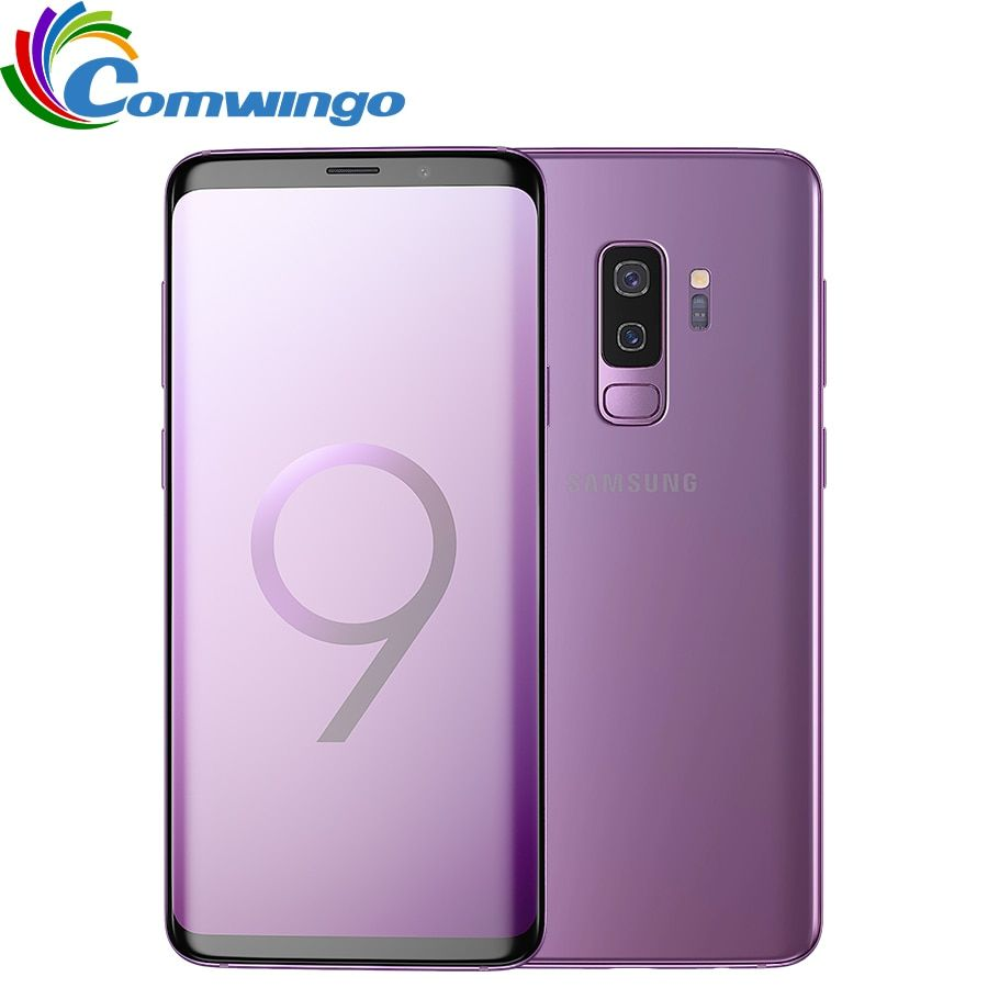 Original Samsung Galaxy S9 Plus 6GB RAM 64GB/128GB ROM Snapdragon 845 Android 8.0 Fingerprint LTE 6.2 inch Dual Sim Mobile Phone