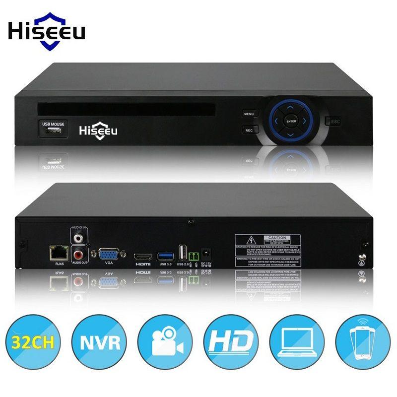 2HDD 24ch 32CH видеонаблюдения NVR 720 P 960 P 1080 P 3 м 5 м видеорегистратор сетевой Регистраторы H.264 onvif 2.0 для IP Камера 2 SATA xmeye P2P Облако