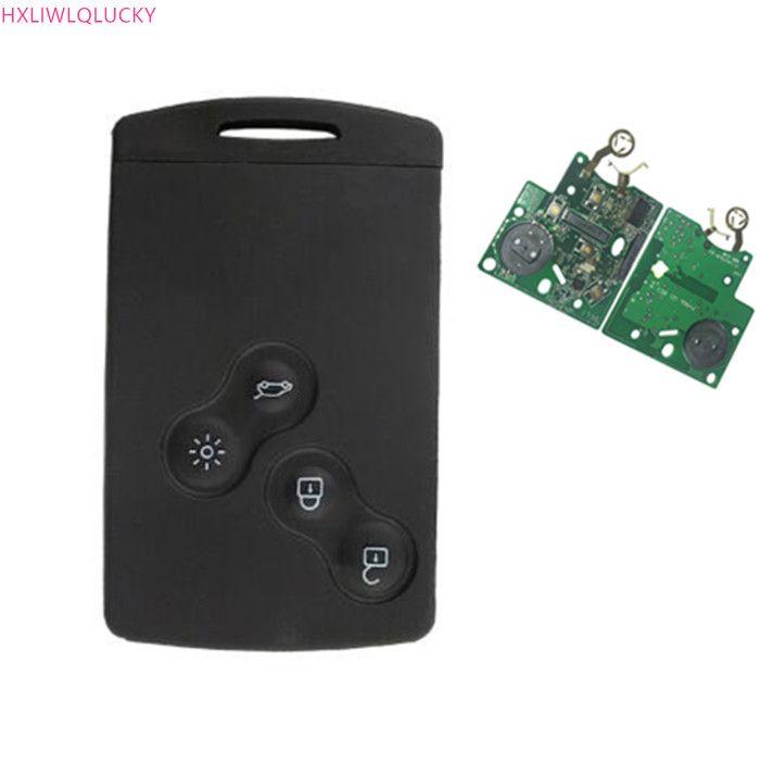 Wilongda Hitag AES 2013 PCF7953 chip Keyless smart schlüssel FSK 434 MHz 4 tasten VA2 klinge für Renault Clio IV freies verschiffen