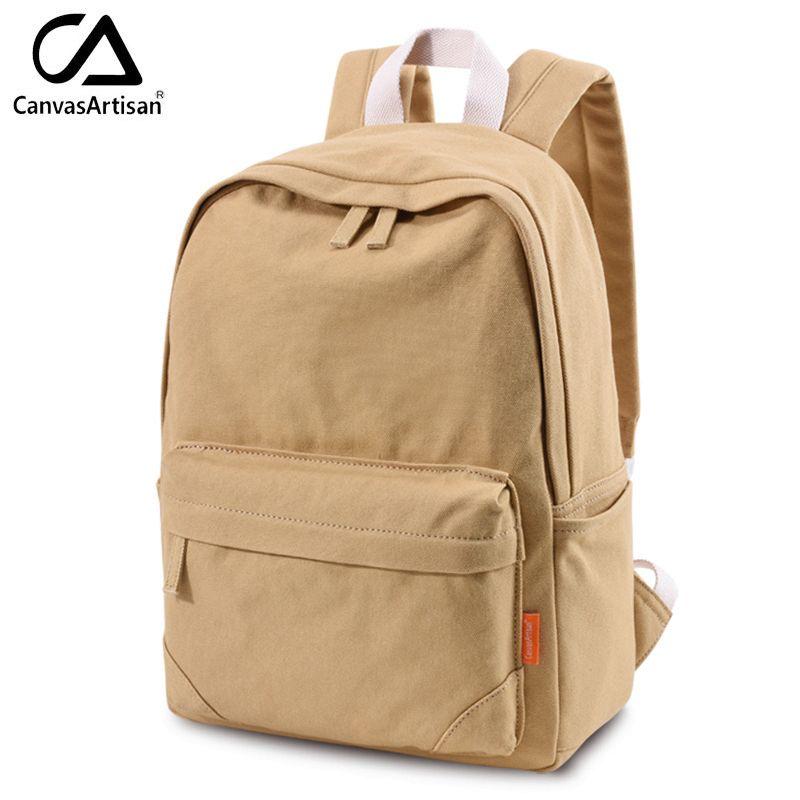 Canvasartisan Одежда высшего качества рюкзак Для женщин Для мужчин путешествия рюкзак унисекс Сумки на плечо Колледж рюкзак ноутбук Рюкзаки