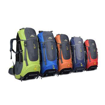 HIGHSEE 50L Backpack Waterproof Outdoor Hiking Backpack Camping Travel Trekking Backpack Hiking Sport Bags Climbing Rucksack
