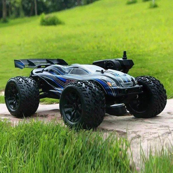 JLB Racing CHEETAH 1/10 Brushless 80/120A RC Car Monster Truck 21101 RTR Upgraded 80 km/h