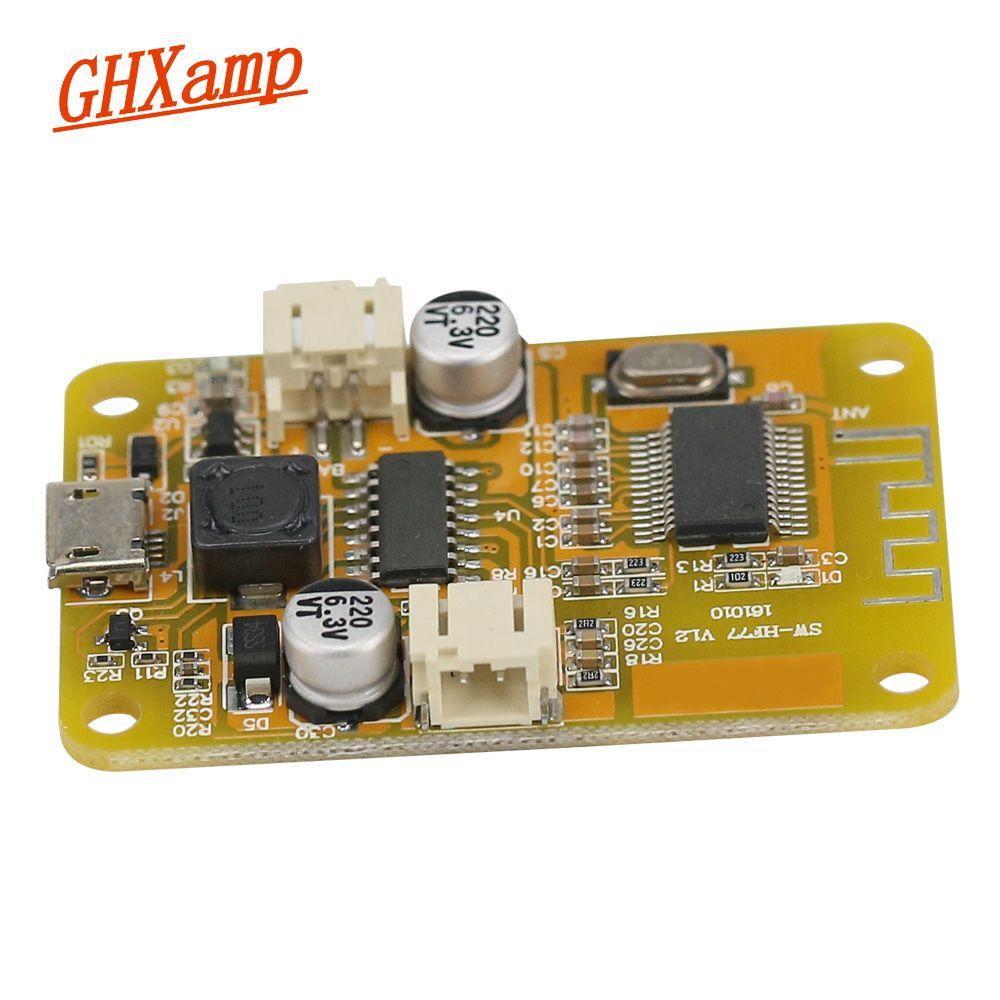 GHXAMP Mono 6W Bluetooth amplifier audio receiver digital board USB 5V Bluetooth speaker DIY 4-10OHM